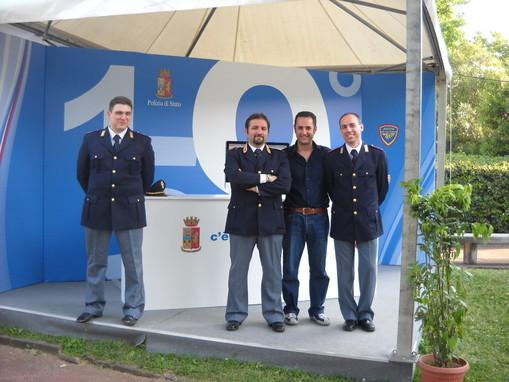 Insieme alla Polizia Postale e delle comunicazioni maggio 2011