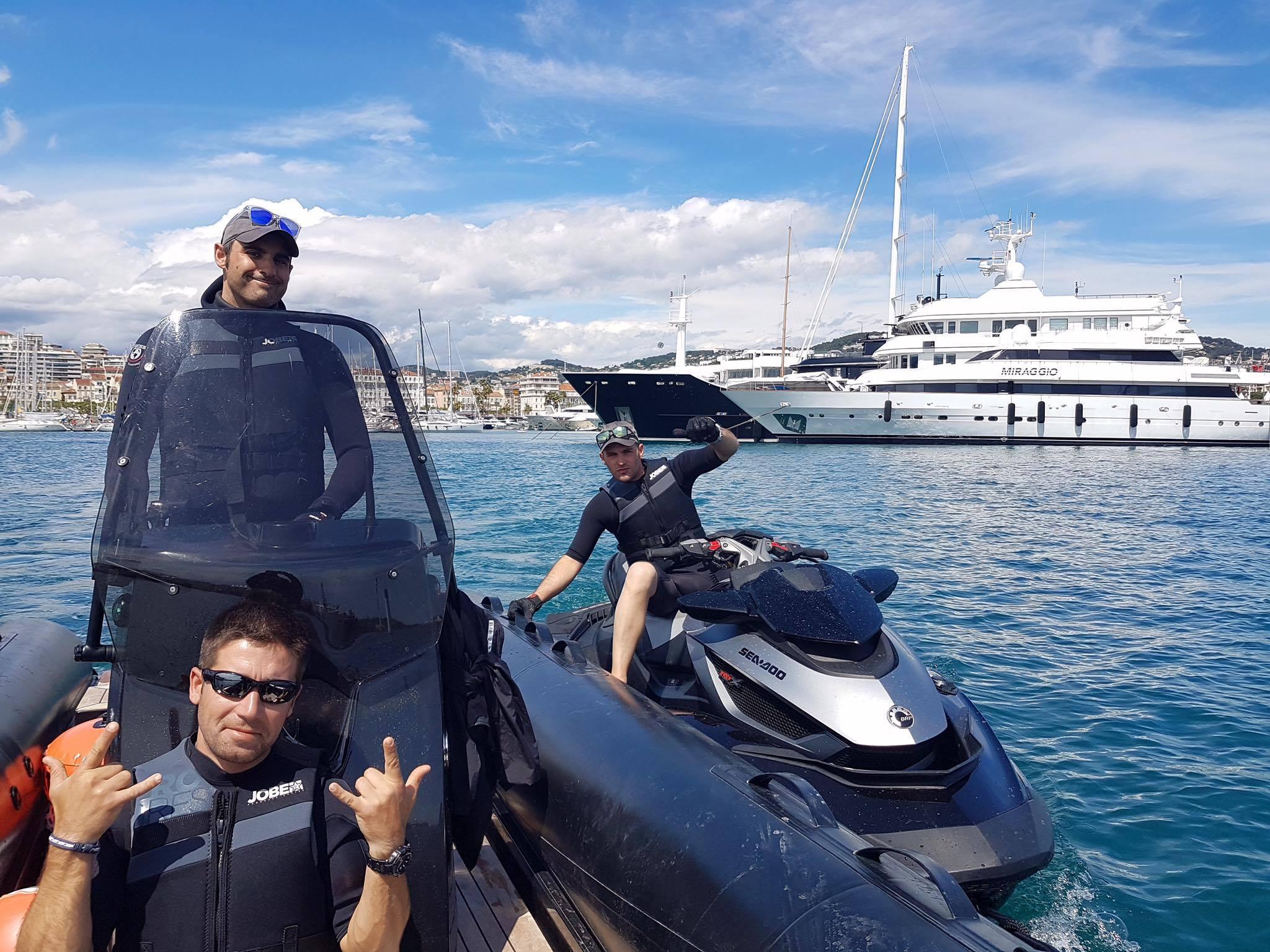 Onboard Crew RYA PWC Proficiency and Jetski Instructor Training at your location ©www.marine-education.co.uk