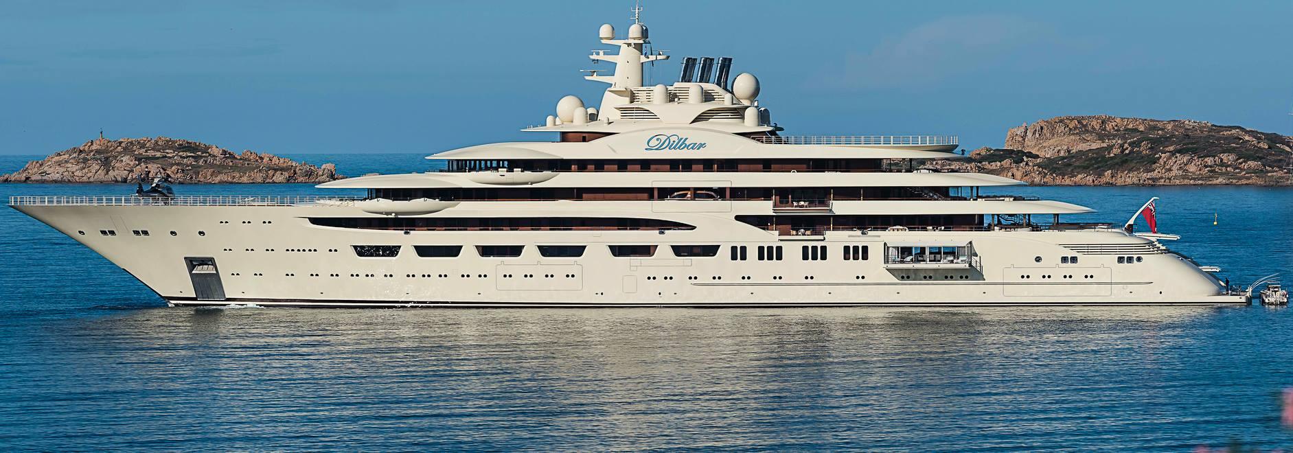 Motor Yacht Dilbar - 157m