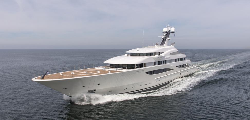 Motor Yacht Areti - 85m
