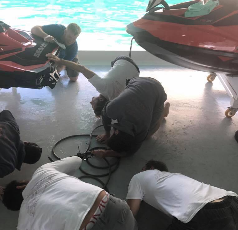 Onboard Crew RYA PWC Proficiency and Jetski Instructor Training at your location ©www.superyachtpwc.com