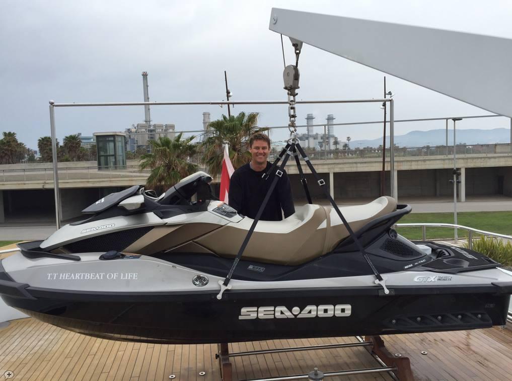 Certified Jetski Lifting Slings for Seadoo and Yamaha ©www.superyachtmarinestore.com