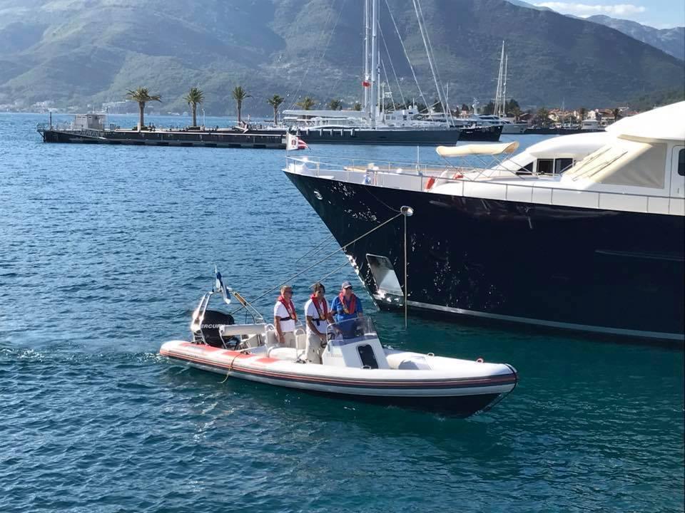 Onboard RYA Powerboat Level 2 Tender Training at your location ©www.marine-education.eu