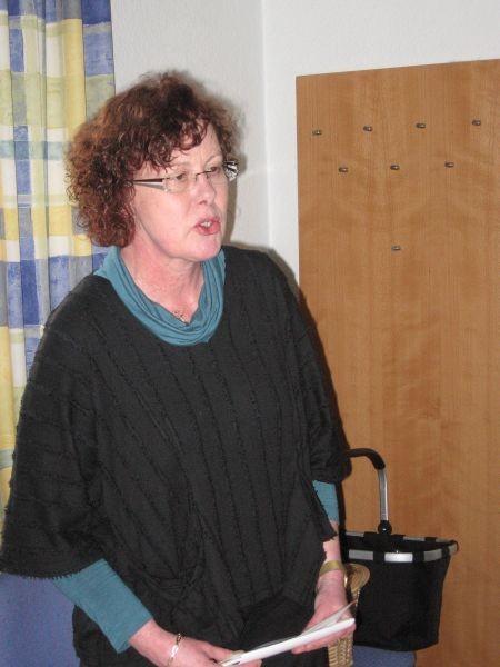 Pfarrerin Annette Heger