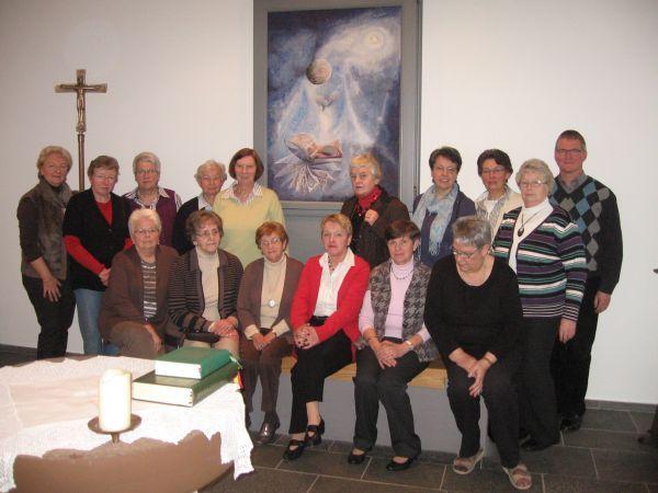 Einkehrtage - kfd Gruppe in der Hauskapelle