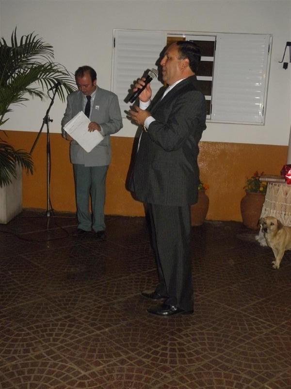 Intendente Municipal Sr. Ricardo Torrez