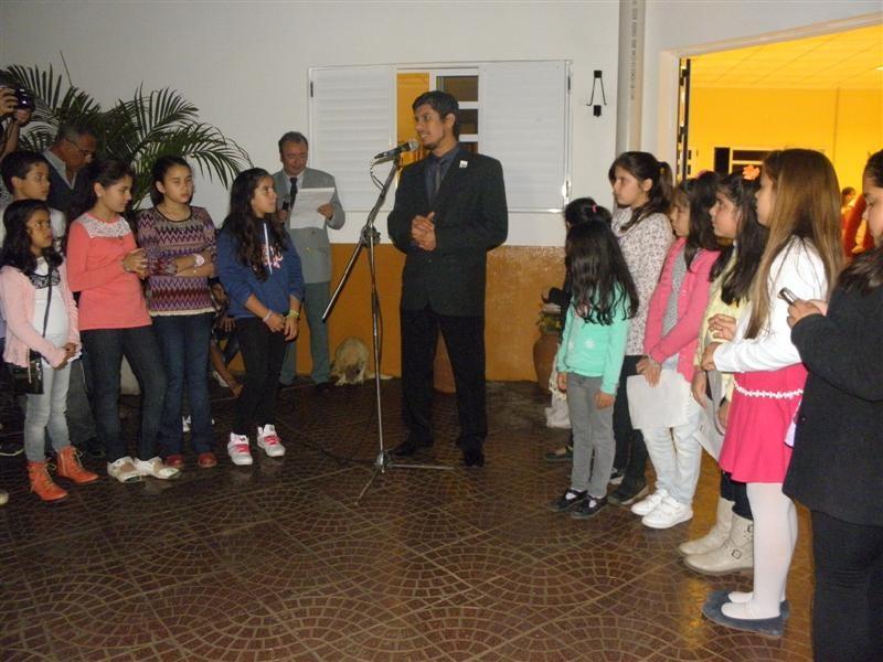 Presidente de la Biblioteca,sr.Julio Monzón Geneyro