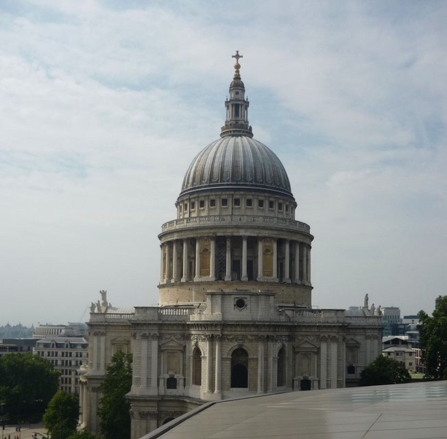 Hidden Gems London - Rooftop of the Shopping Mall One New Change (St Pauls Cathedral)