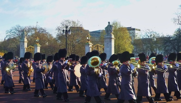 Spartipps London - Changing the Guards Buckingham Palace (London günstig Tipps)