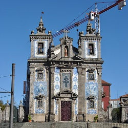 The most beautiful churches in porto