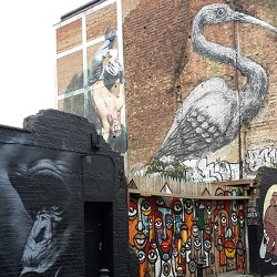 Street Art Tour Shoreditch, London