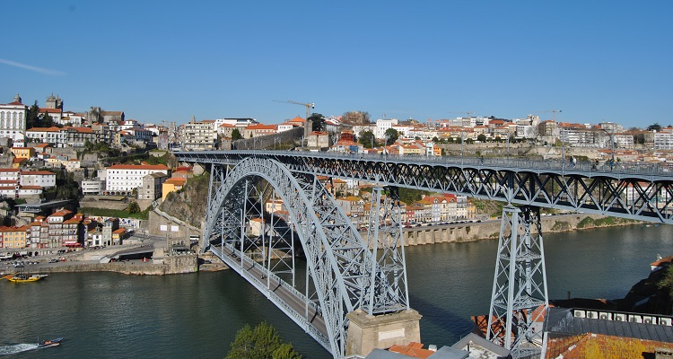 City trip Europe - Porto Ponte Dom Luis I bridge