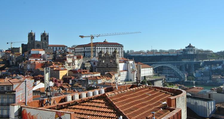 Best viewpoints in Porto - Miradouro da Vitoria