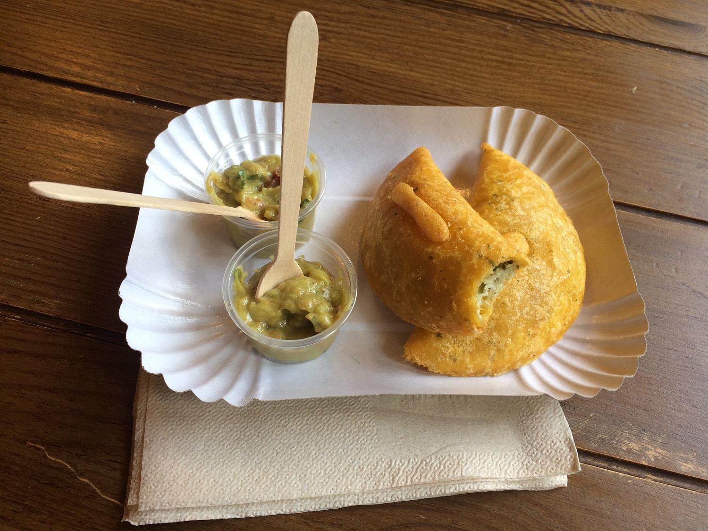 Kulinarische Schnitzeljagd Düsseldorf - Empanadas bei Lunitas
