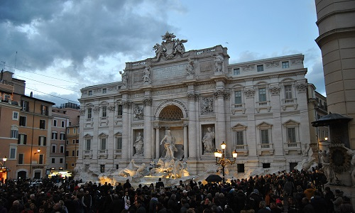 Trevi Brunnen in Rom (Rom 3 Tage)
