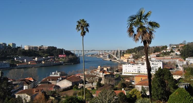 Best viewpoints in Porto - Jardins do Palacio de Cristal