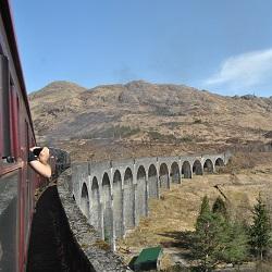 Fahrt mit dem echten Hogwarts Express