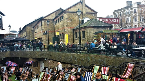Märkte in London -Stables Market Camden