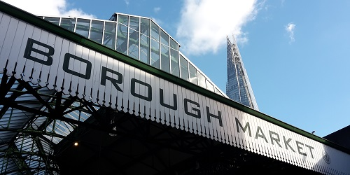 London bei Regen - Borough Market