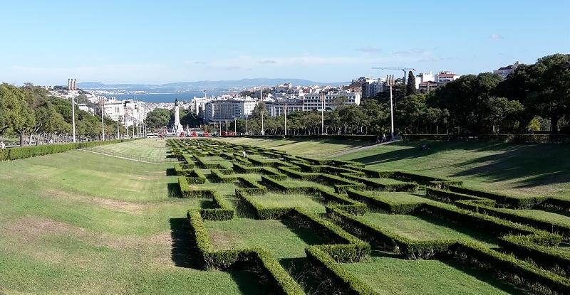 Parque Eduaedo VII, Lissabon