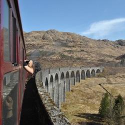 Harry Potter Zug / Eine Zugfahrt mit dem echten Hogwarts Express