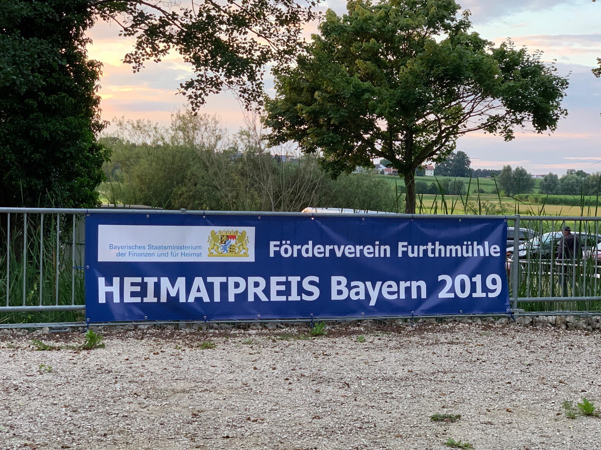 Förderverein der Furthmühle: Heimatpreis-Träger 2019