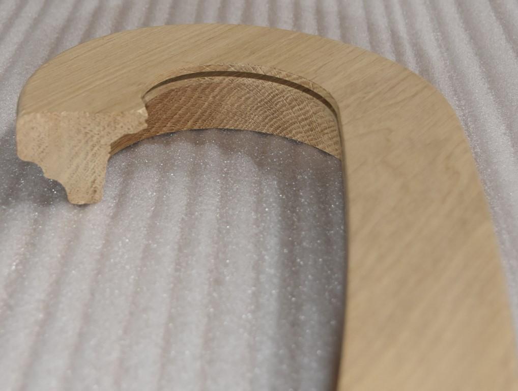 Treppenkante mit Profil