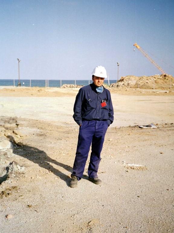 ABT Com a cap d'obra, en la descontaminació de les terres i adequació del terreny a les obres del Fòrum de les Cultures de Barcelona