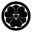 丸に剣片喰(まるにけんかたばみ)