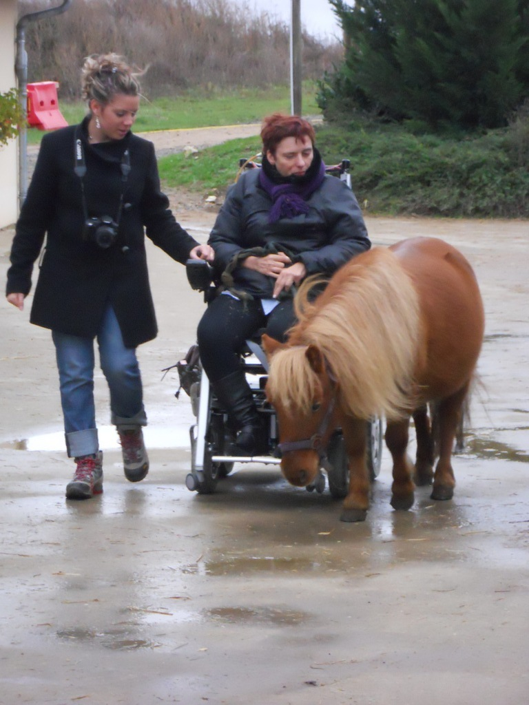 Eh, Poney! Pourquoi tu me doubles?