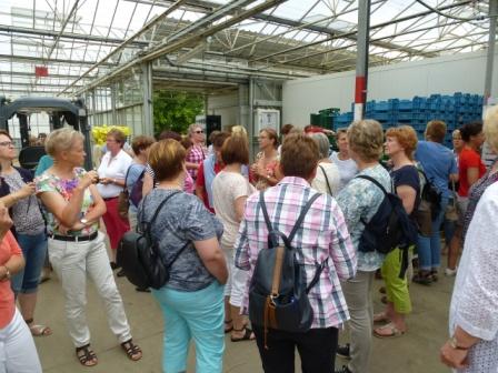 Besuch des Obst- und Gemüseanbaubetriebes Fehmel i. Mutterstadt