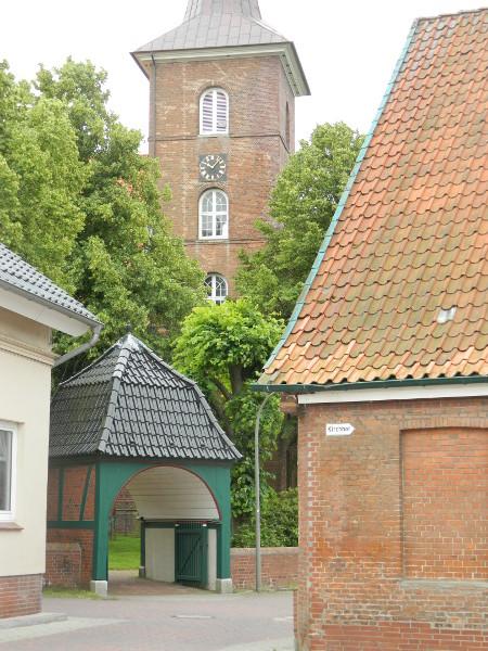 Barockkirche in Neuenfelde