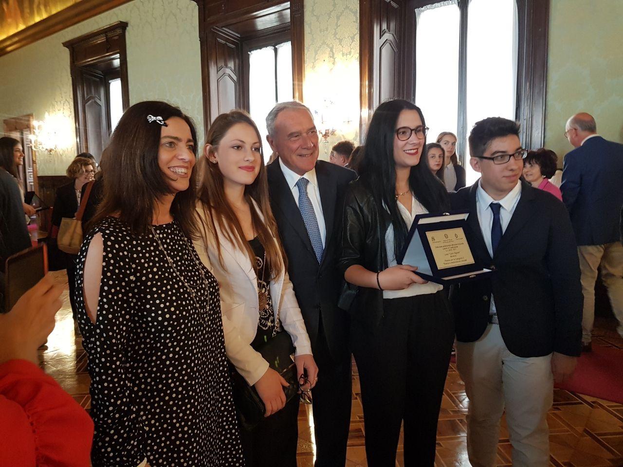 La delegazione della 2G con il Presidente del Senato della Repubblica sen. Pietro Grasso