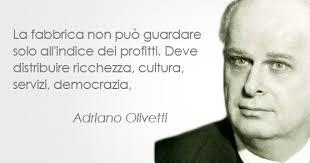 Citazione di Adriano Olivetti