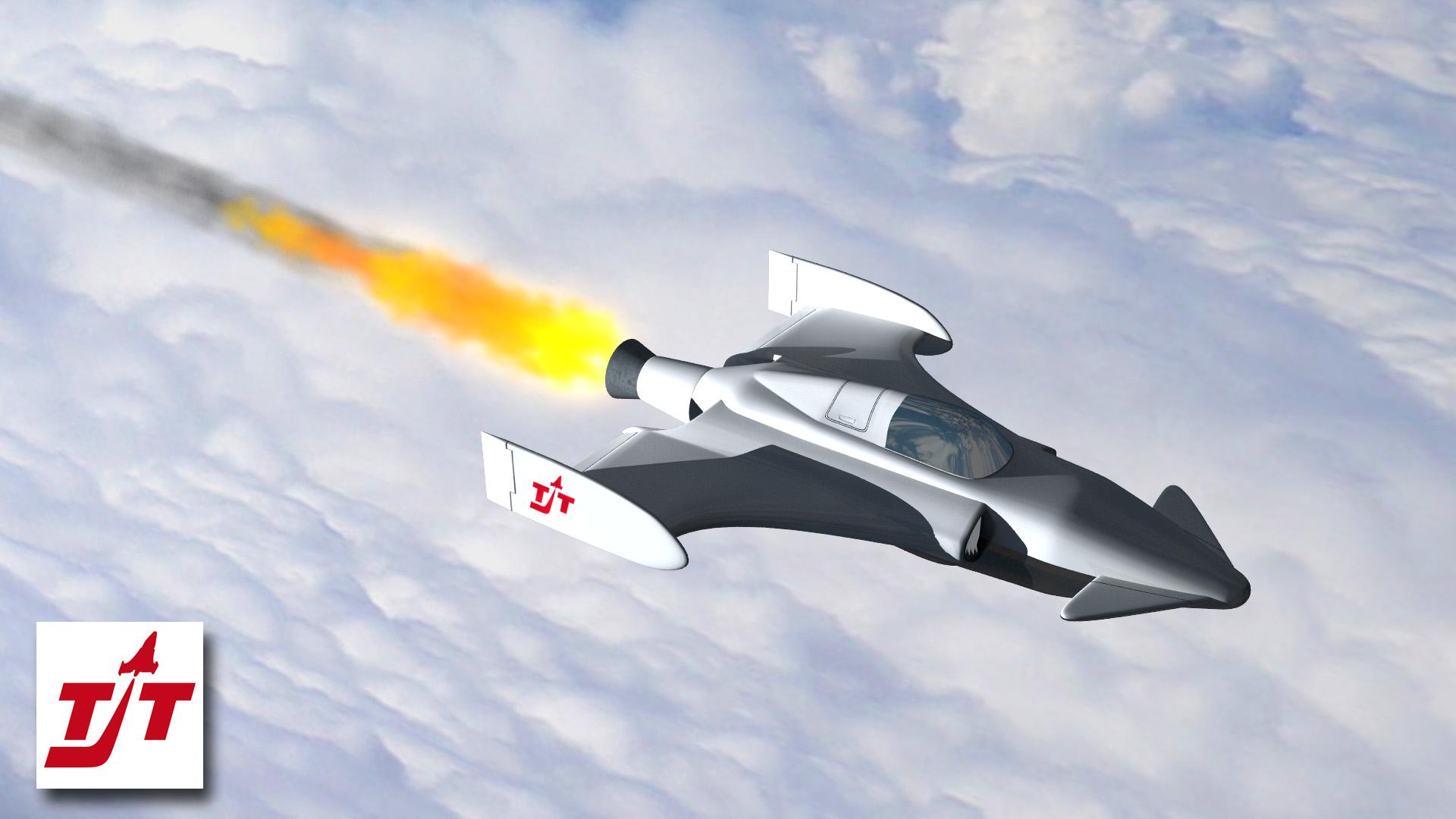 3D-Animation Flugzeugtechnik