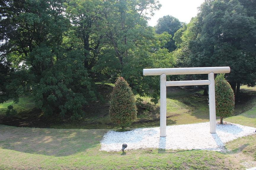 蓬莱山古墳の写真です。