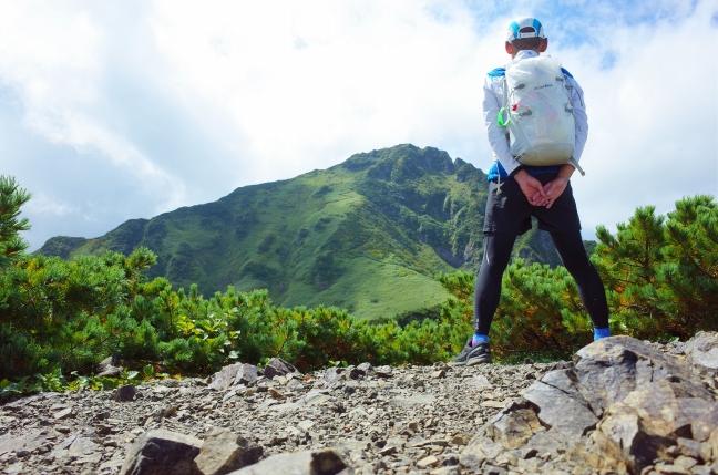 芦別岳(新道)|花も雪もない日本二百名山は楽しいのか(8月下旬)