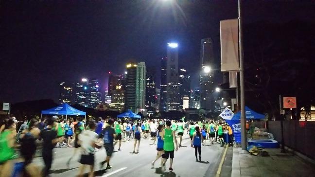 シンガポールマラソン