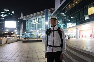 ソウル駅にて