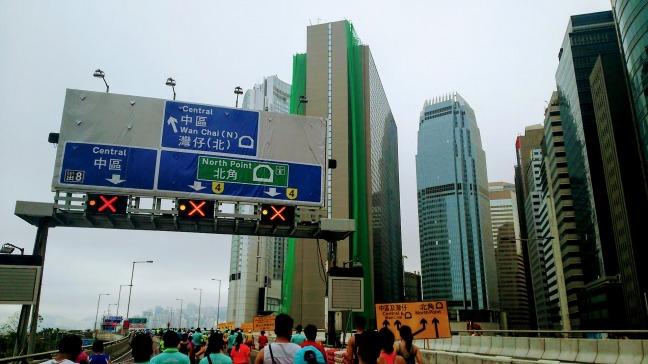 香港マラソン2019 中環