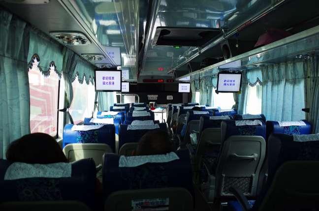 宜蘭ー武陵農場バス