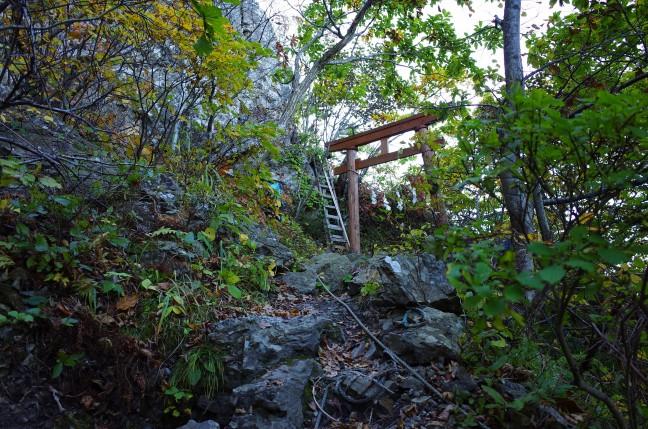 太田山神社最後の鳥居