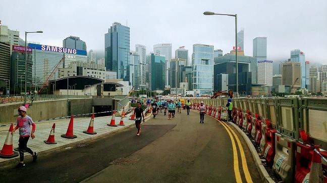 香港マラソン金紫荊