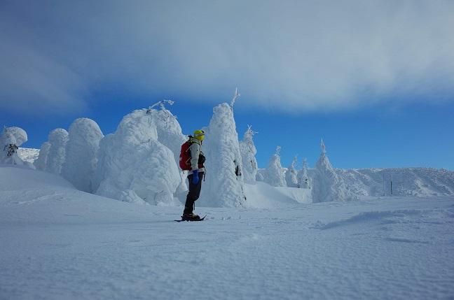 山形旅行記|ピーチで仙台入り、雪の蔵王と月山に登る