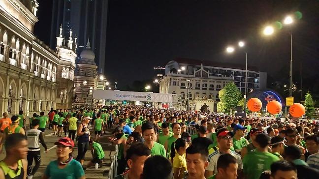 スタンダードチャータードクアラルンプールマラソンマレーシア