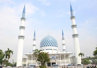 ブルーモスク(マレーシア)|路線バスでクアラルンプールからシャーアラムへ