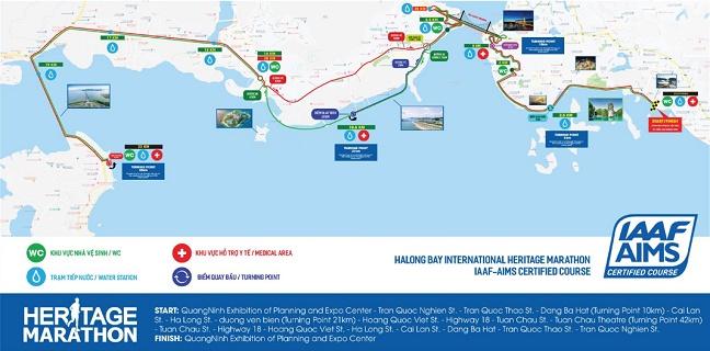 ハロン湾ヘリテージマラソン