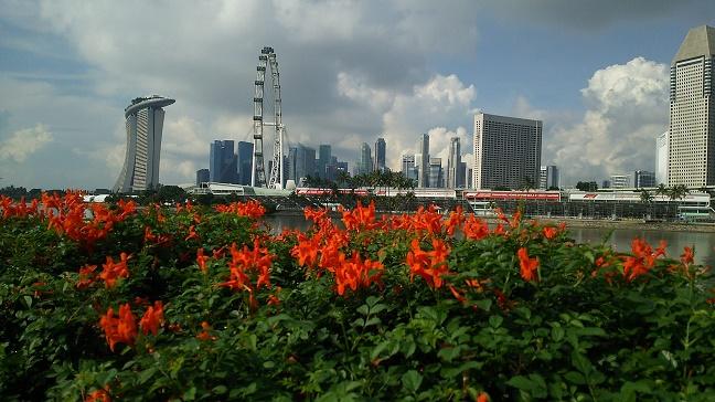 シンガポールマラソン35km地点