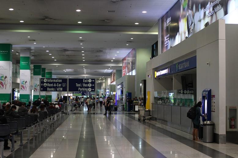 マニラニノイアキノ国際空港ターミナル3