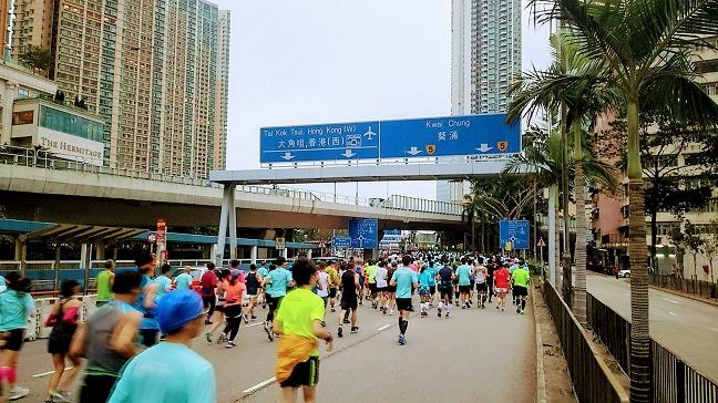 旺角香港マラソン
